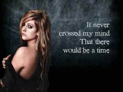 Avril Lavigne- Remember When Lyrics